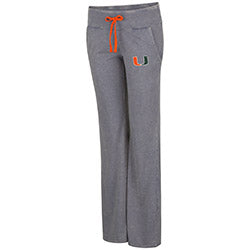 Miami Hurricanes Women's Lindsay Wide Leg Pant