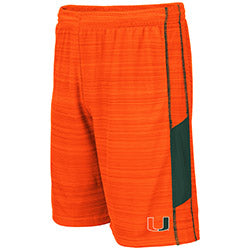 Miami Hurricanes 2019 MEN'S WEWAK SHORT - ORANGE