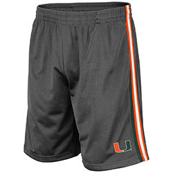 Miami Hurricanes 2019 MEN'S SANTIAGO SHORT - Charcoal