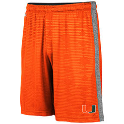 Miami Hurricanes 2019 MEN'S BART SHORT - ORANGE