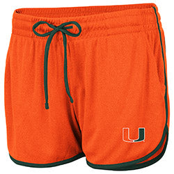 Miami Hurricanes 2019 WOMEN'S TOULON SHORT - ORANGE