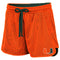 Miami Hurricanes WOMEN SHOES FIRST SHORTS - ORANGE