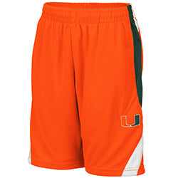 Miami Hurricanes 2019 YOUTH RIO SHORT - ORANGE