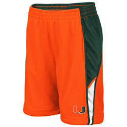 Miami Hurricanes Colosseum TODDLER DUNCAN SHORT - ORANGE