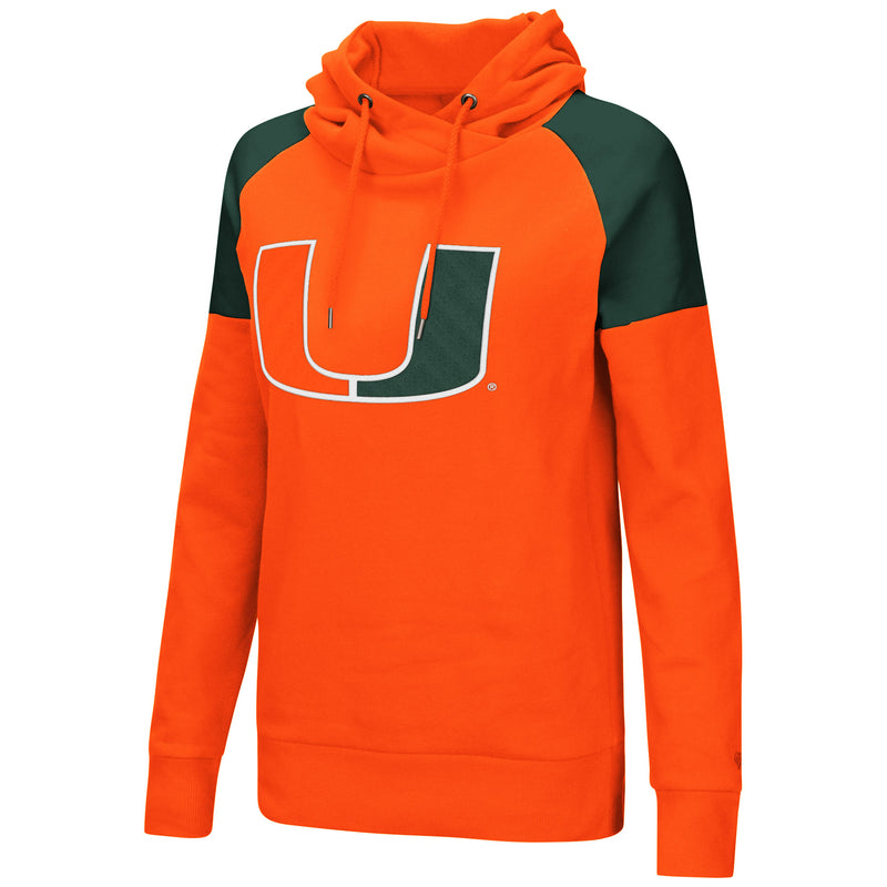 Miami Hurricanes Women's Lien Air Hooded Tunic - Orange