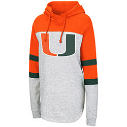 Miami Hurricanes Women's Taylor Fleece Hoodie