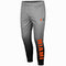 Miami Hurricanes Colosseum Mens Sitwell Sublimated Fleece Pants - Heathered Grey