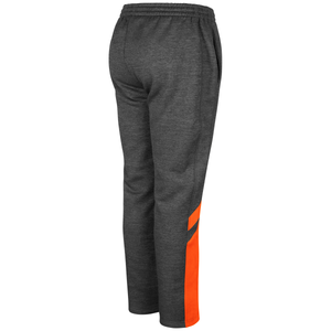 Miami Hurricanes Colosseum Youth Traps Heathered  PolyFleece Pants - Charcoal