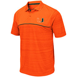 Miami Hurricanes 2019 MEN'S LEVUKA POLO - ORANGE
