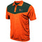 Miami Hurricanes MEN'S BART POLO - ORANGE