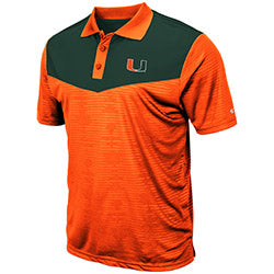 Miami Hurricanes 2019 MEN'S BART POLO - ORANGE