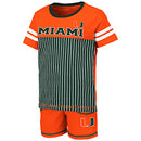 Miami Hurricanes Colosseum TODDLER BOY'S HALIFAX SET - ORANGE /GREEN