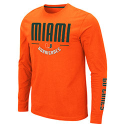Miami Hurricanes 2019 MEN'S STREETCAR - ORANGE