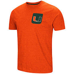 Miami Hurricanes MENS VOODOO S/S POCKET TEE