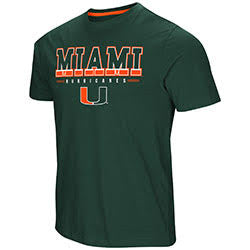 Miami Hurricanes MENS TACKLE S/S TEE