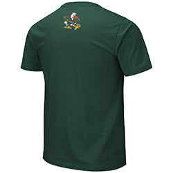 Miami Hurricanes 2019 MEN'S MOES S/S TEE - GREEN