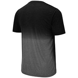 Miami Hurricanes Colosseum MEN'S FANCY WALKIN DIP DYE TEE - Black/Grey