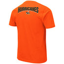 Miami Hurricanes MEN'S ULLMAN TEE - ORANGE