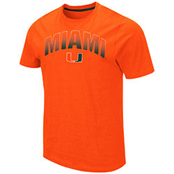 Miami Hurricanes 2019 MEN'S ULLMAN TEE - ORANGE