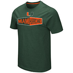 Miami Hurricanes 2019 MEN'S RALPH TEE - GREEN