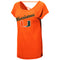 Miami Hurricanes WOMEN'S BOLD GESTURES S/S TEE - ORANGE