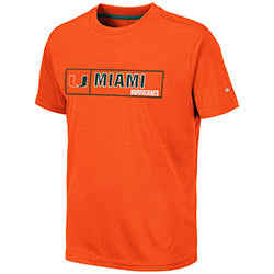 Miami Hurricanes 2019 YOUTH LA PAMPA S/S TEE - ORANGE