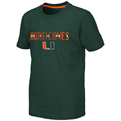 Miami Hurricanes 2019 YOUTH TUCUMAN S/S TEE - GREEN