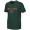 Miami Hurricanes YOUTH TUCUMAN S/S TEE - GREEN