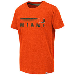 Miami Hurricanes 2019 YOUTH TORONTO S/S TEE - ORANGE