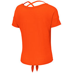 Miami Hurricanes 2019 GIRL'S LINZ BALLERINA TEE - ORANGE