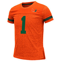 Miami Hurricanes 2019 GIRLS MINK S/S TEE - ORANGE