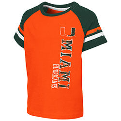 Miami Hurricanes 2019 TODDLER BOY'S EDMONTON S/S TEE - ORANGE