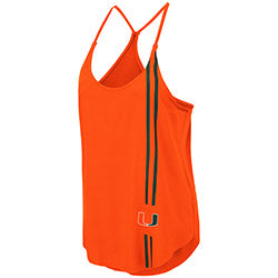 Miami Hurricanes Colosseum WOMEN'S DUNKIRK TANK - ORANGE