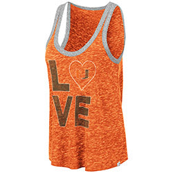 Miami Hurricanes WOMEN'S MARSALA TANK TOP - ORANGE
