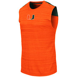 Miami Hurricanes 2019 MEN'S MADANG SLEEVELESS TEE - ORANGE