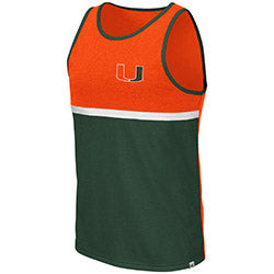 Miami Hurricanes 2019 MEN'S LA PAZ TANK - Orange/Green