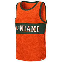 Miami Hurricanes Colosseum YOUTH QUEBEC TANK - ORANGE