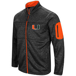 Miami Hurricanes MENS GLACIER FULL ZIP JACKET