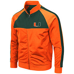 Miami Hurricanes MEN'S HOMERPALOOZA TRACK JACKET - ORANGE