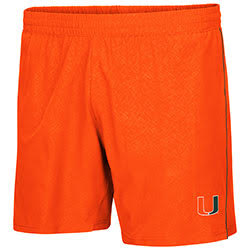 Miami Hurricanes MENS CIAO WOVEN SHORT
