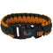 Miami Hurricanes Orange/Green Survivor Bracelet