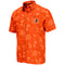 Miami Hurricanes MEN'S HONOLULU CAMP SHIRT - ORANGE