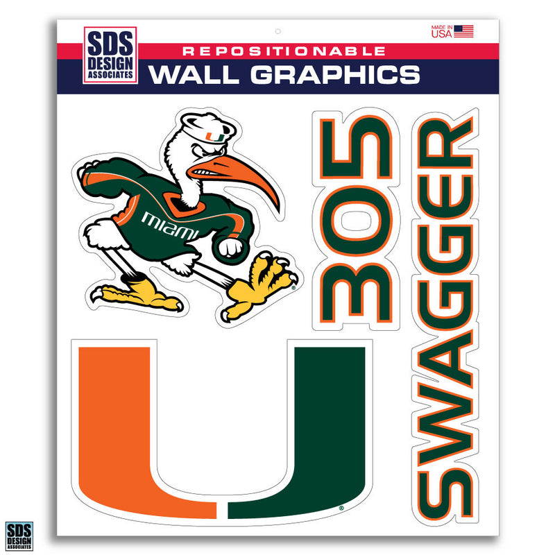Miami Hurricanes 3-Pack 12