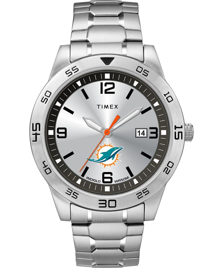 Miami Dolphins Men's Citation Timex Watch