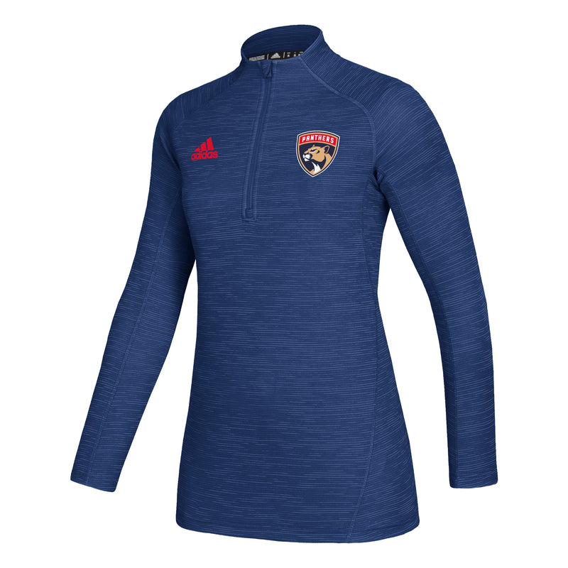 Florida Panthers adidas 2019  GameMode1/4P LS - Women