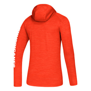 Miami Hurricanes adidas 2019 Game Mode Training Hoodie - Orange