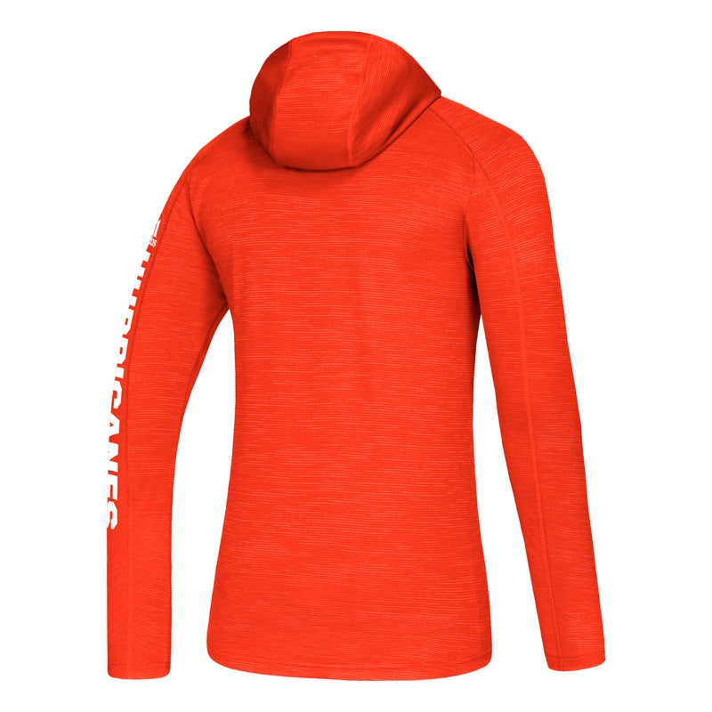 Miami Hurricanes adidas Game Mode Training Hoodie - Orange