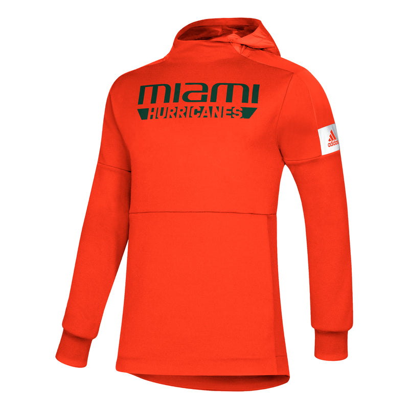 Miami Hurricanes 2019 Game Mode Pull Over - Orange