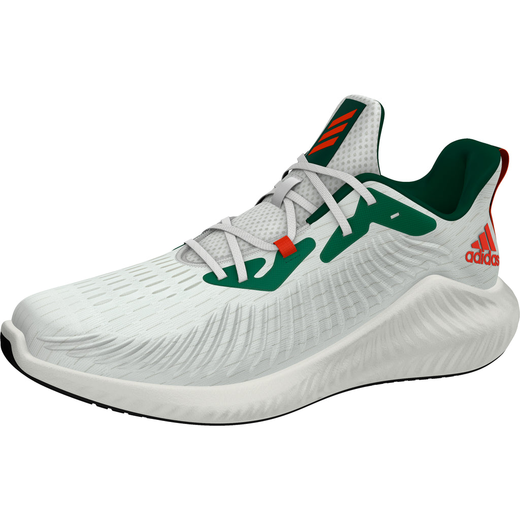 Absorbente Decano musicas  Miami Hurricanes adidas alphabounce+ U Shoes / Sneakers - White – CanesWear  at Miami FanWear