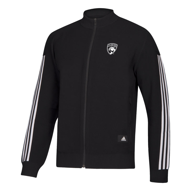 Florida Panthers adidas 2019 Knit Track Top Jacket